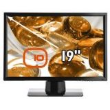 Edge 10 T193 19 inch Education Toughened Hard Glass LCD Monitor WXGA+ TFT LCD DVI Piano Black)